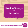 Thumbnail image for Meal Planning: What's for Dinner on Meatless Monday in December
