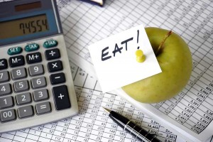 Eat reminder note