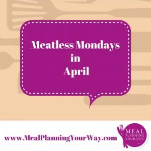 meatless monday april